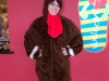 Holiday Turkey Costume for Corporate Event